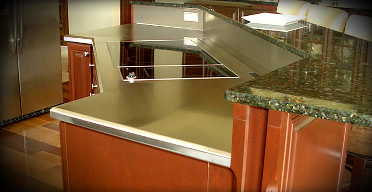 Commercial & Residential Stainless Steel Countertops