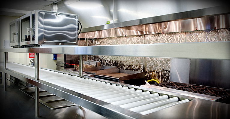 Custom Stainless Steel Food Service Equipment