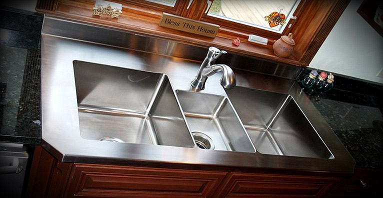 Custom Metal Sinks