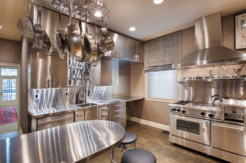 The Brown Firm Kitchen