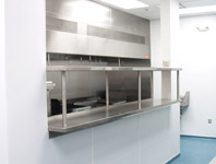 Stainless Steel Pass Thru Shelf