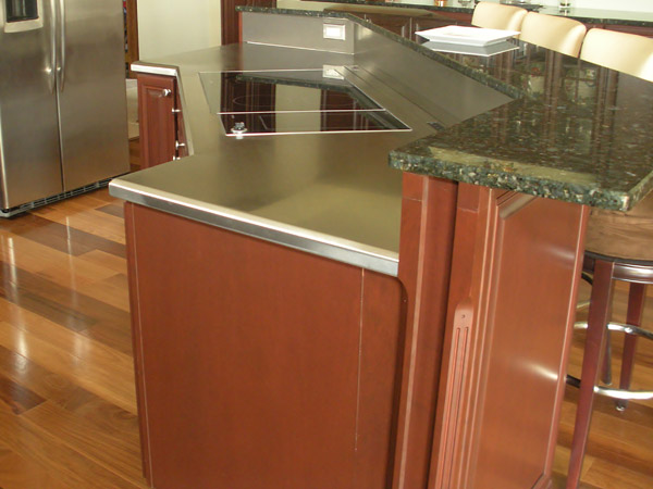 Custom Island Countertop & Commercial u0026 Residential Stainless Steel Countertops - New Carlisle ...